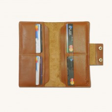 Leather Long Wrist Wallet  For Smart Phone & Money Carrying