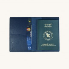 Stylish Leather Passport Sleeve