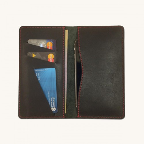 Stylish Leather Phone Wallet